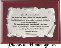 Placas De Homenaje